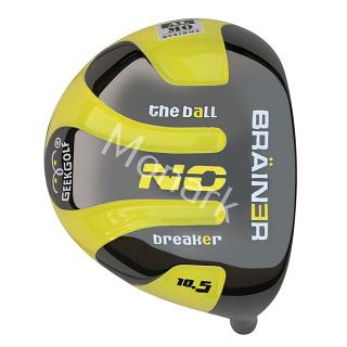 Custom-Built Geek Golf The Ball Breaker Non-Conforming Titanium Driver
