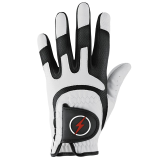 Powerbilt Junior One-Fit Golf Glove - White