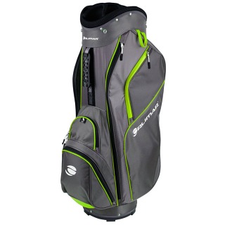 Orlimar CRX 14.6 Golf Cart Bag - Charcoal/Lime