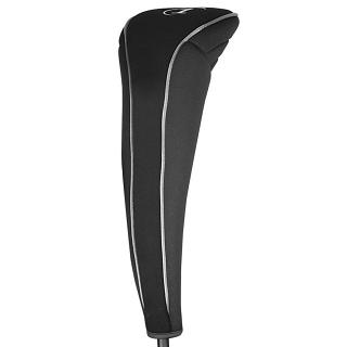 No Logo Contour Black Neoprene Golf Headcovers