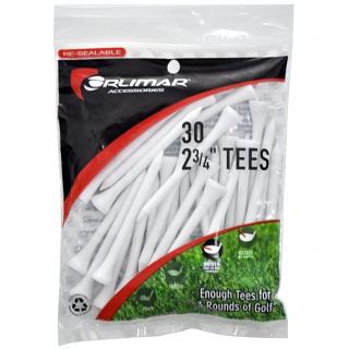 Orlimar 2-3/4 Inch White Golf Tees