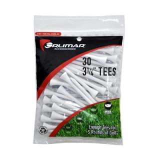 Orlimar 3-1/4 Inch White Golf Tees