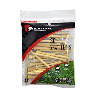 Orlimar 2-3/4 Inch Natural Golf Tees