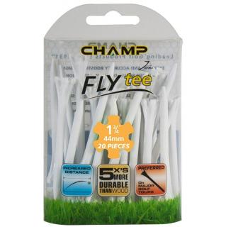 "Champ Zarma FLYTee 1-3/4"" White Golf Tees 20 pack"