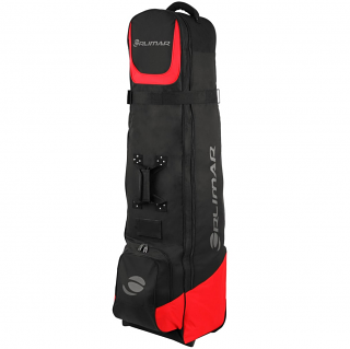 Orlimar 6.0 Deluxe Wheeled Golf Travel Cover - Black/Red