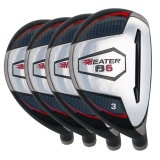 Built Heater B-6 Hybrid 4-Club Graphite Set