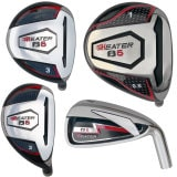 Built Heater B-6 Titanium Driver 9-Club Set