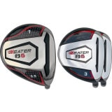 Built Heater B6 Titanium Driver + 2 x Fairway Woods