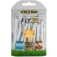 "Champ Zarma FLYTee 1-3/4"" White Golf Tees 20 pack"
