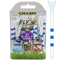 Champ My Hite FLYTee - Striped Golf Tees