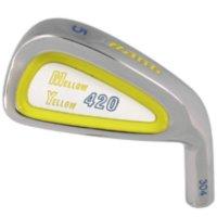 Custom-Built Bang Golf Mellow Yellow Iron Clubs