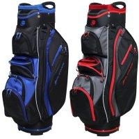 Orlimar Golf CRX Cooler Cart Bag - Black/Red