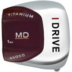Built i-Drive MD Titanium Driver with Graphite Shaft