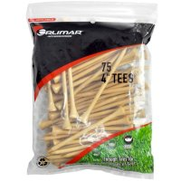 Orlimar 4-Inch Natural Golf Tees 75-Pack