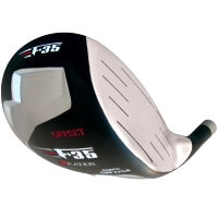 Heater F-35 Cup Face Offset Black Titanium Driver Head RH